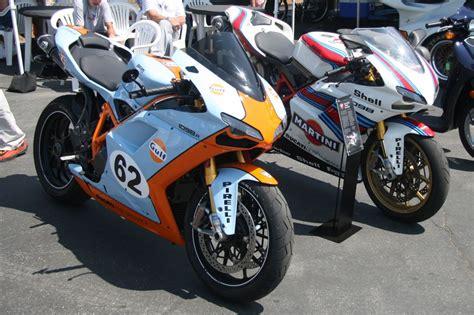 martini livery motorcycle monterey 2009 ducati debuts martini porsche tribute bike