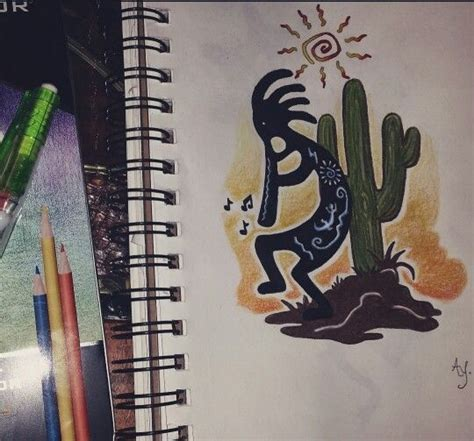 southwest tattoo designs 25 best ideas about kokopelli on rasta
