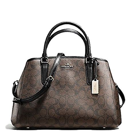 Ready Coach Margot Black coach 00 kquwfell 02 coach signature small margot carryall in brown black im aa8 for sale cheap