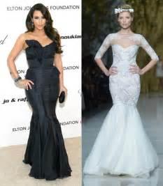 Kim Kardashian possible wedding dress designer to Kanye West