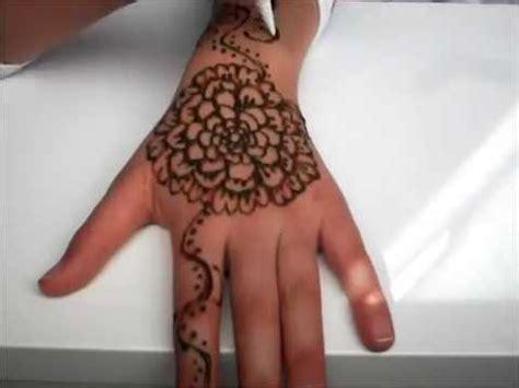 henna tattoo on youtube makkelijke henna