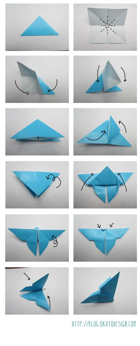 Origami Simple Butterfly - 25 best ideas about origami butterfly on