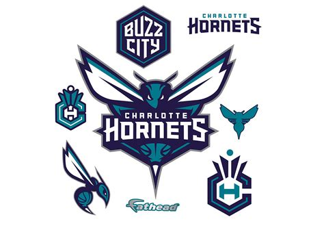 Mba Hornets by Hornets Logo Wall Decal Shop Fathead 174 For