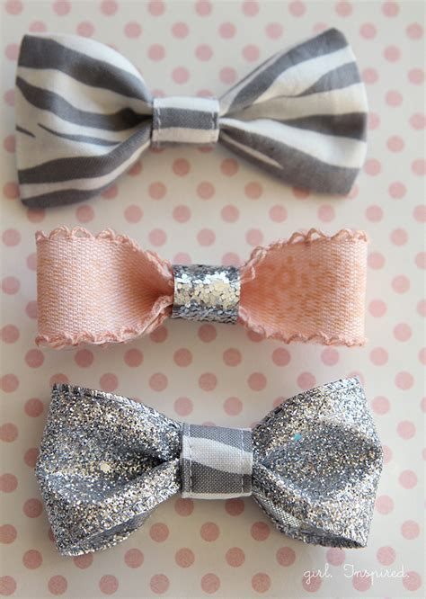 30 and easy to make hair bows diy projects