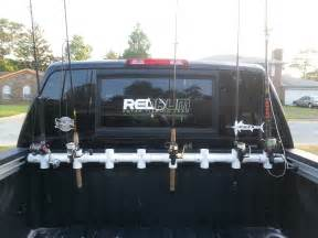 custom truck bed rod holder yangler