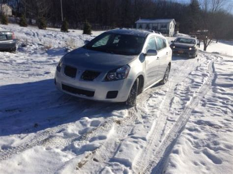 accident recorder 2009 pontiac vibe auto manual sell used 2009 pontiac vibe awd wagon 4 door 2 4l in vestal new york united states