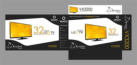 Led Tv Box Design | sparc led tv box design on pantone canvas gallery