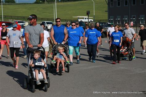3rd annual Be More Like Wade Scholarship 5K Run/Walk/Crawl continues success   Clarksville, TN