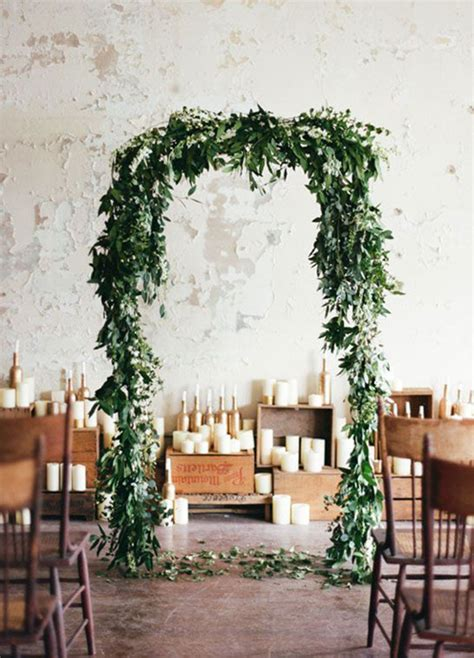 2017 Wedding Trends Top 30 Greenery Wedding Decoration