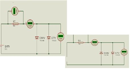 diodes in parallel two diodes in parallel voltage electronics and electrical engineering design forum eeweb
