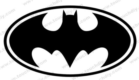 batman return logo ready design template super heroes