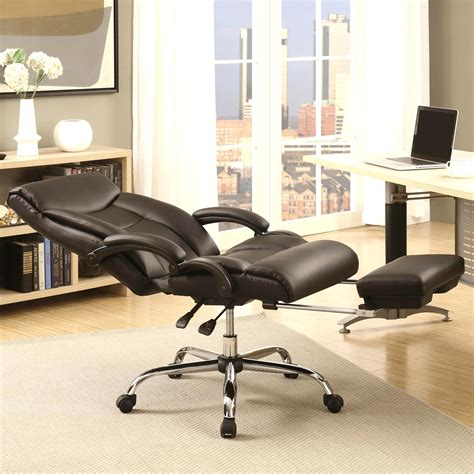 Reclining Office Desk Chair - a line furniture executive adjustable reclining office