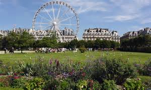jardin des tuileries a garden in the style