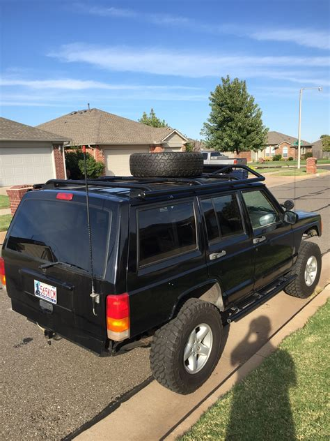 jeep roof rack my xj custom roof rack battle jeep forum