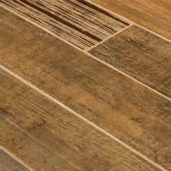 Porcelain Plank Tile Flooring Barrique Series Brun Wood Plank Porcelain Tile Traditional Wall And Floor Tile Other Metro