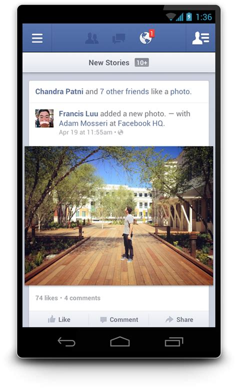 facebook native android now live and twice as fast