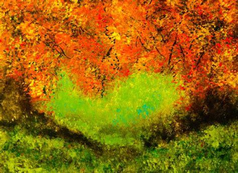 acrylic painting with sponge landscape acrylic sponge painting baltimore