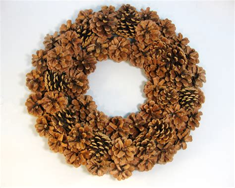 another bright idea pine cone wreaths a tutorial