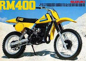 Suzuki Rm 400 Suzuki Rm400 Brochures Adverts