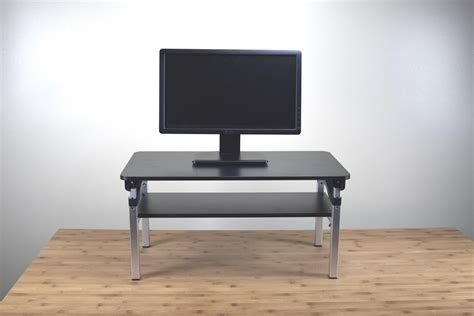 height adjustable standing desk riser uncaged ergonomics liftb lift tall adjustable height