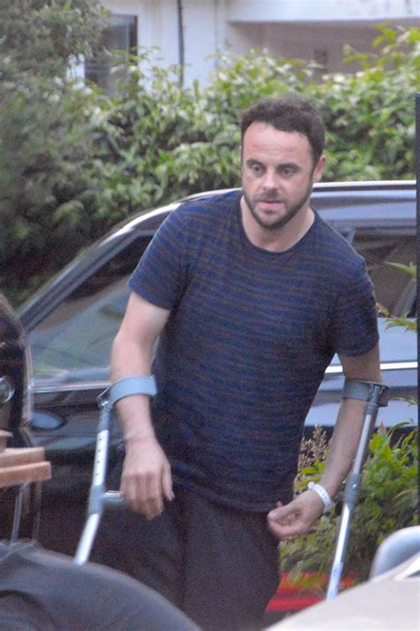 In Out Of Rehab In A Day by Troubled Telly Ant Mcpartlin Allowed Out Of Rehab On