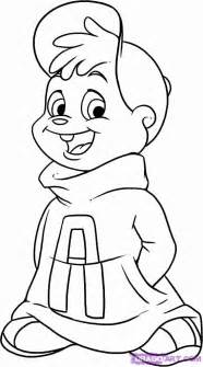books coloring pages alvin chipmunks