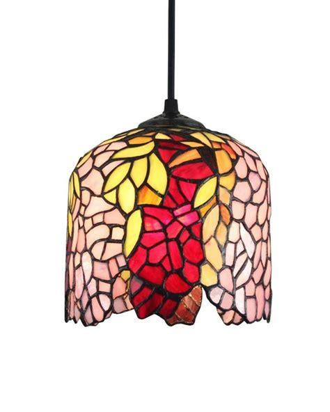 leaded glass ceiling light with flower pattern 17 quot wide 3r stained glass ceiling l pattern beautiful flower