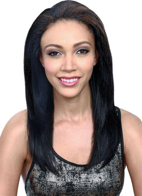 the best bss human hair bobbi boss human hair lace front wig mhlf o ivy