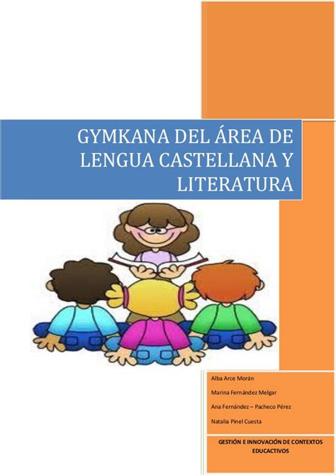 lengua castellana y literatura 8483089017 gymkana de lengua castellana y literatura