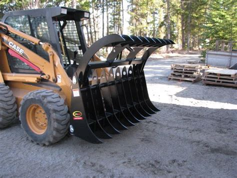 Landscape Rake For Sale In Bc Grapple Industrial Rake Glc Equipment
