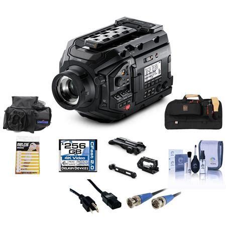 blackmagic design ursa mini pro 4.6k camera ef mount with
