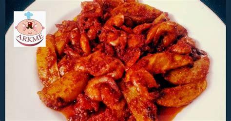 Gloria Abon Ayam Makanan Kering 250 G udang kentang balado pedas resep resep makanan sehat