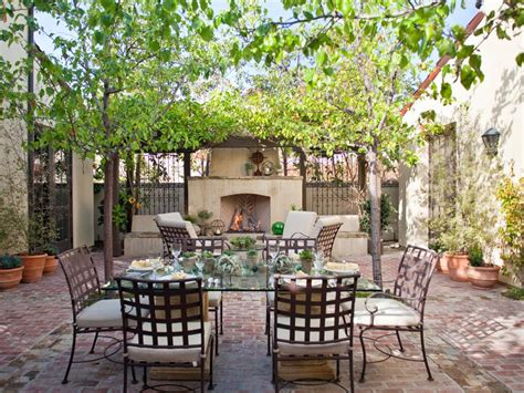 outdoor dining areas stylish and functional outdoor dining rooms hgtv