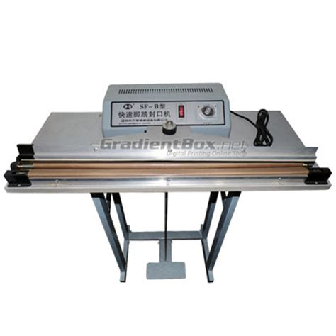 Alat Pres Plastik Manual alat press plastik sealer 60 cm gradientbox