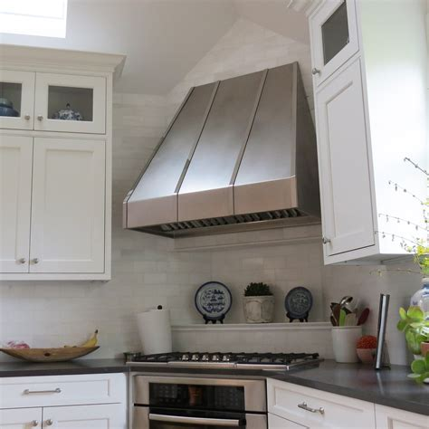 small white kitchen with steel hood extraordinary range hoods stainless steel kitchen hood