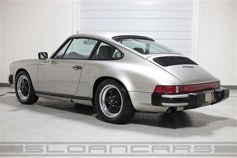 911 porsche sc 1983 porsche 911 sc coupe 38 993 sloan cars