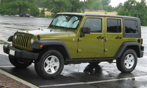 Jeep Wrangler Unlimited Upgrades Jeep Wrangler Unlimited Technical Details History Photos