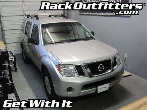 Nissan Pathfinder Roof Rack by Nissan Pathfinder Thule Rapid Crossroad Aeroblade Base
