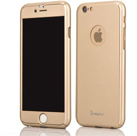 Casing Hp Cover Iphone 66s Plus 360 Cover Baby Skin Ultra Thin H 2 iphone 6 6s ipaky 360 protection with glass screen protector apple logo cutout