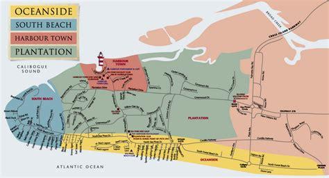 sea resort map the sea pines resort map