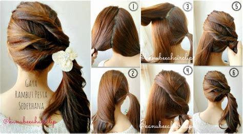 tutorial tata rambut pendek model dan cara menata rambut sendiri