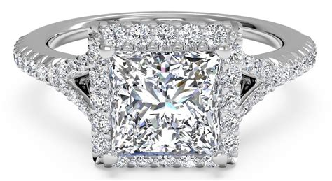 5 square engagement rings to adore ritani