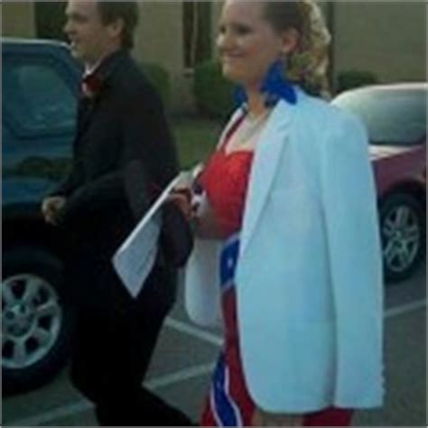 black teenage female banned from prom for skimpy dress prom 2012 tennessee teen kicked out over confederate prom