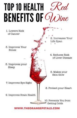 7 Benefits Of Wine by Top 10 Health Benefits Of Wine Theorangepetals