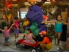 Barney And The Backyard Gang Videos Talk The Backyard Show Barney Wiki Fandom Powered By Wikia