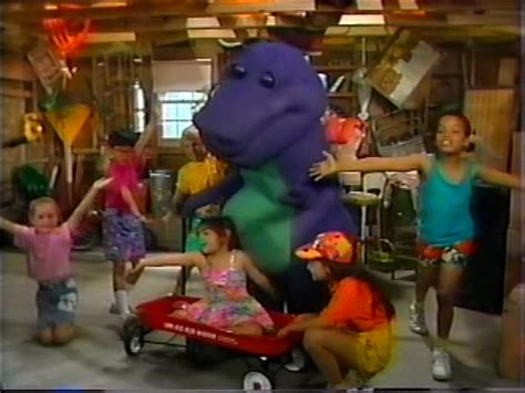 barney the backyard show part 1 the backyard show barney wiki