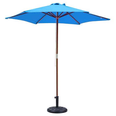 18 quot outdoor umbrella base stand free standing heavy duty