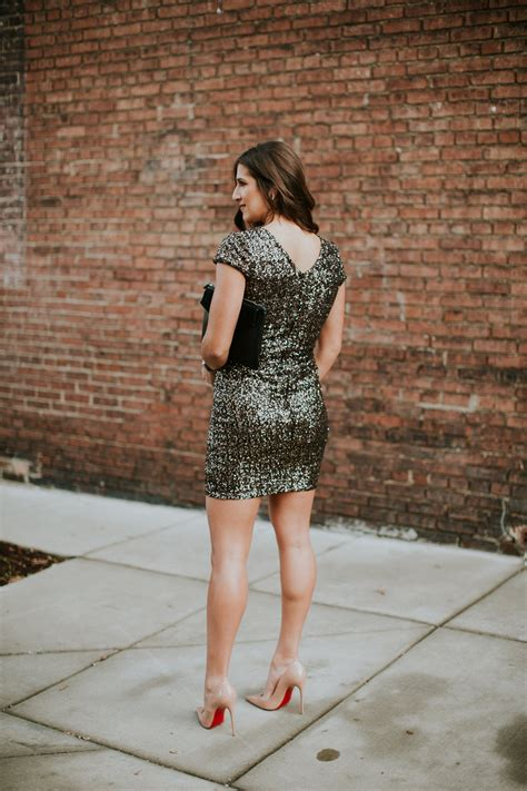 Get The Look Jessicas Sequin Mini Dress by Sequin Mini Dress A Southern Drawl