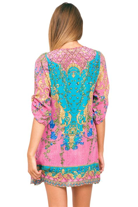 Novel Tunik Pink tolani tunic in pink
