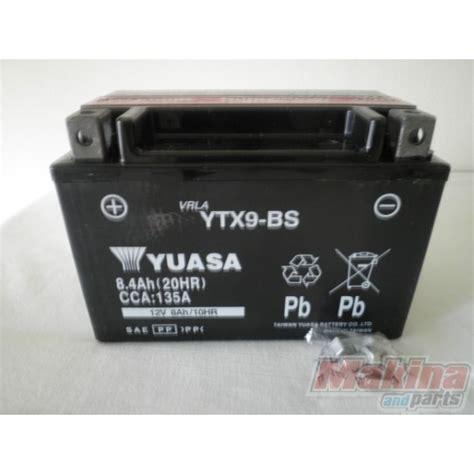 Suzuki Bandit 600 Battery Yuasa Battery Ytx9 Bs Suzuki Gsr 600 Gsf 650 Gsxr 600 750